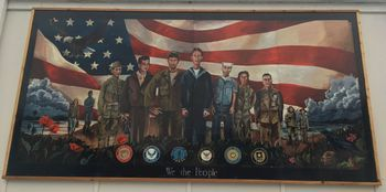 New Legion mural honors veterans across time and service