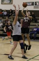 Basketball continued despite the cancellation of the Dick Hotch tournament