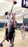 Boys defeat Craig in home basketball games